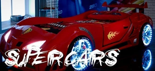 SuperCars Beds for Sale - Car Bed Shop