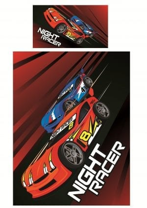 Night Racer Duvet Set