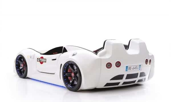 GT999 -SLR Racing Car Bed White