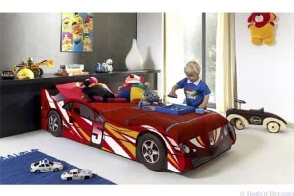 CX5Red Race Car Bed