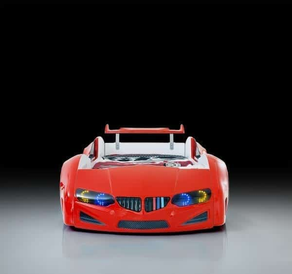 BMW RED SPOILER FRONT