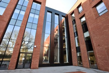 Dortech Architectural Systems Ltd. Birmingham City University Extension Completes!