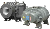 HR Blowers supply the Howden Dresser range of Roots blowers and vacuum booster pumps such as this Universal RAI RAM blower.