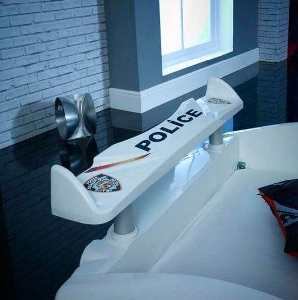Speedster Police Racing Car Bed