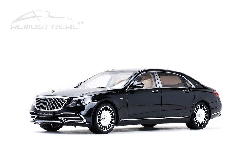 Almost Real 1:18 Mercedes Maybach S650 Black 820112