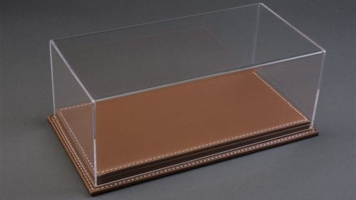 Atlantic Case 1:18 Mulhouse Brown Leather 10071 Display Case